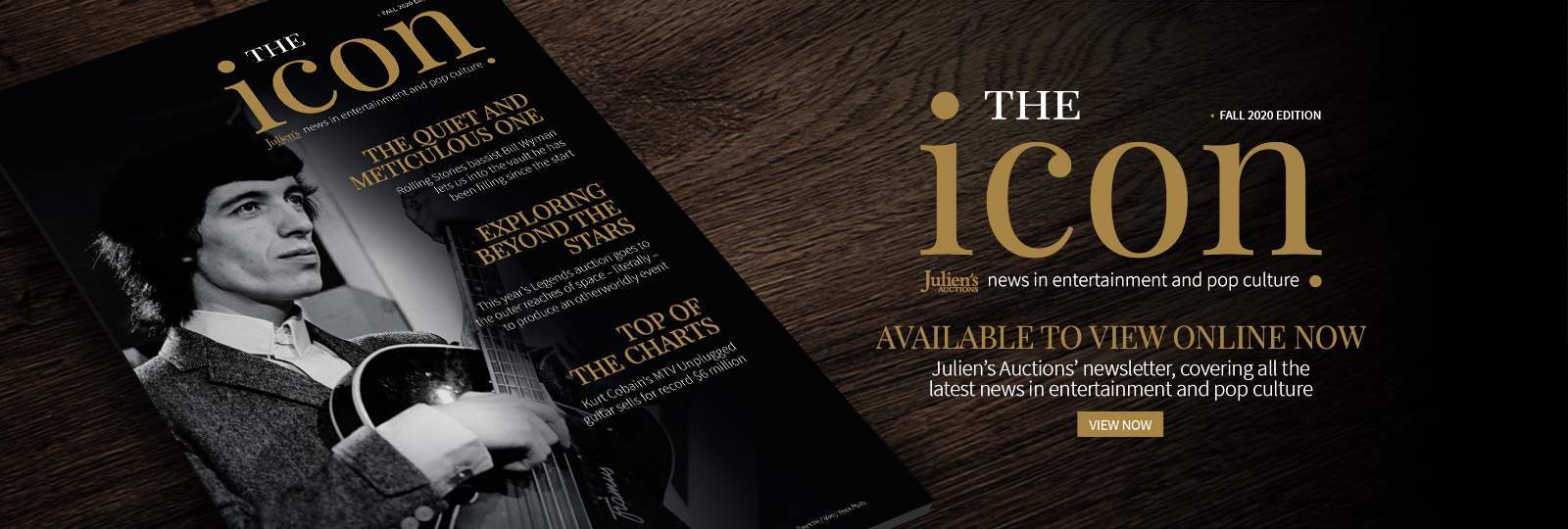 The Icon - Fall Edition Now Live