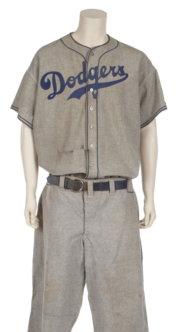 Babe Ruth Brooklyn Dodgers Coaching Uniform
