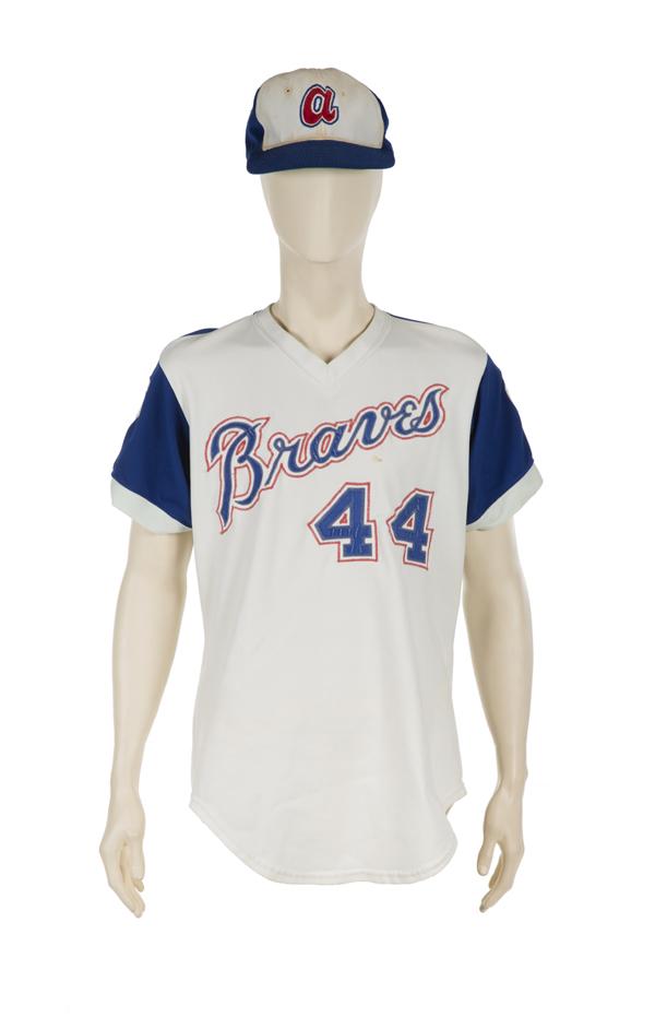 Hank Aaron Atlanta Braves Jersey