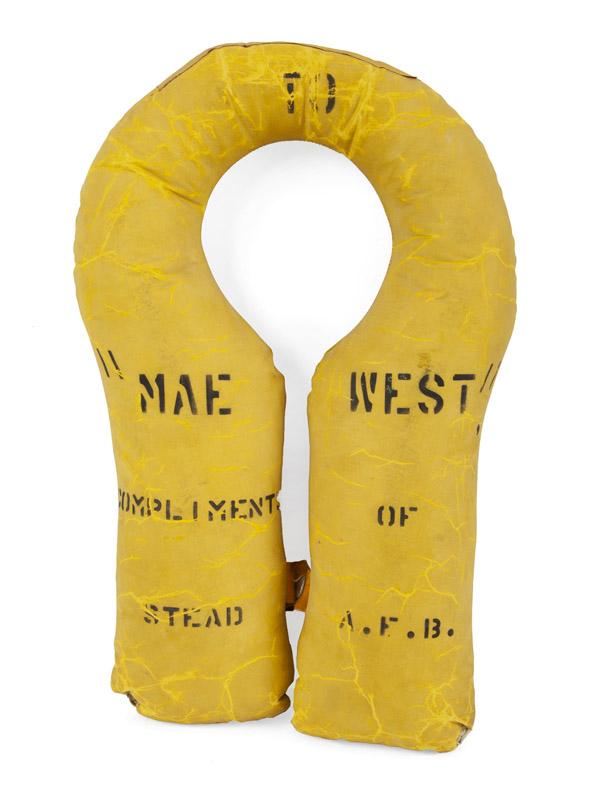 Mae West inscribed life preserver