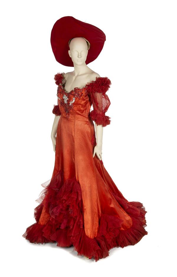 Mae West's Diamond Lil gown