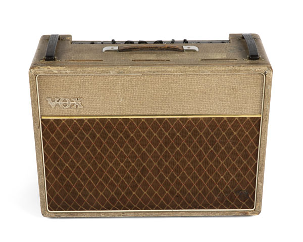 Wyman's 1962 VOX AC30 Amplifier