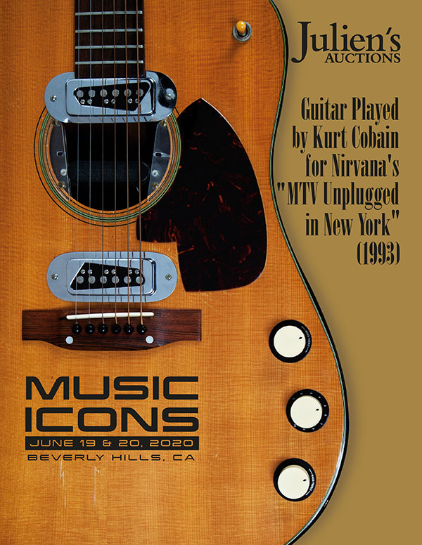 Julien's Auctions - Music Icons 'Kurt Cobain'
