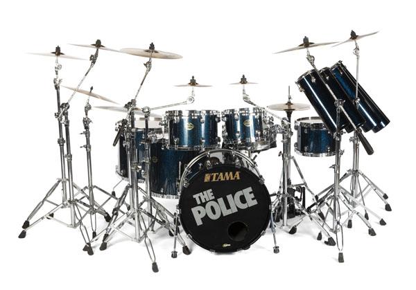 14-piece Tama Starclassic drum kit