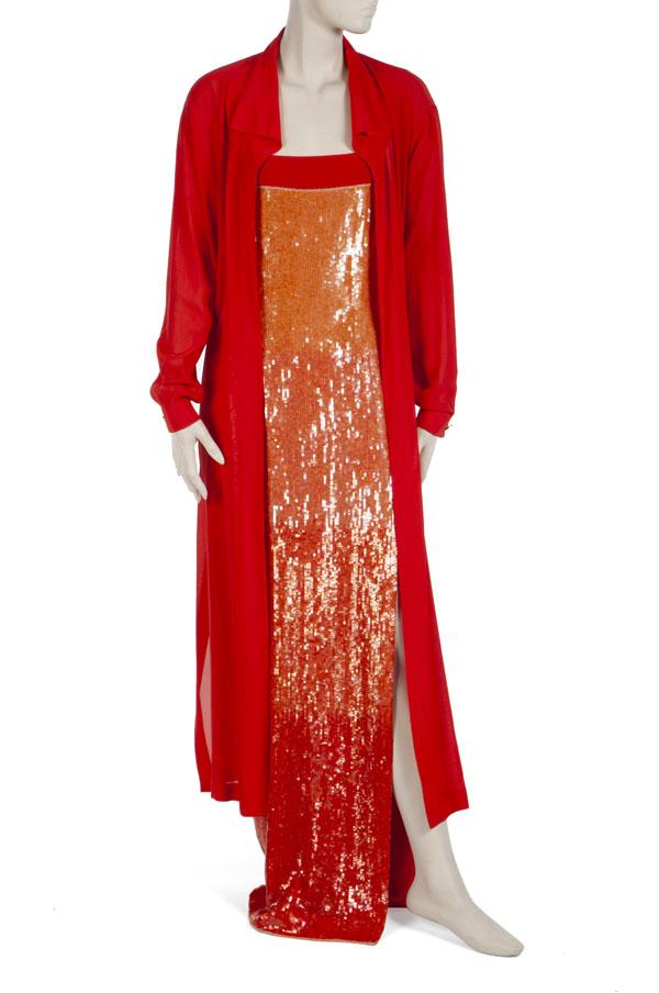 Whitney Houston's Escada gown