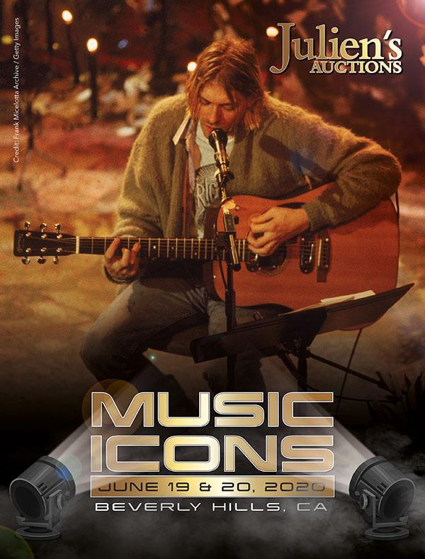 Julien's Auctions Music Icons Catalogue