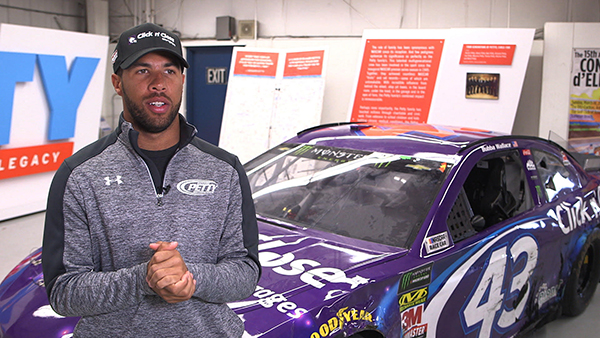 Bubba wallace signed Chevrolet