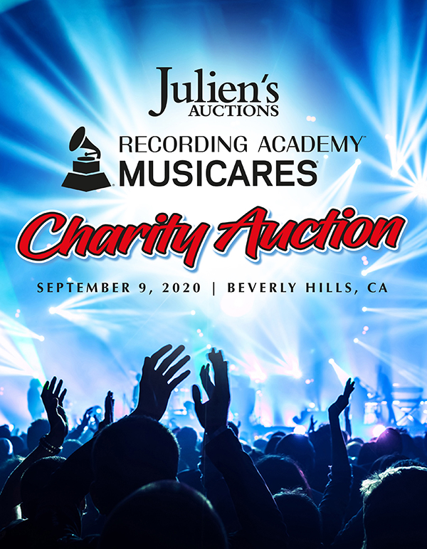 Juliens Auctions Musicares Auction Cover