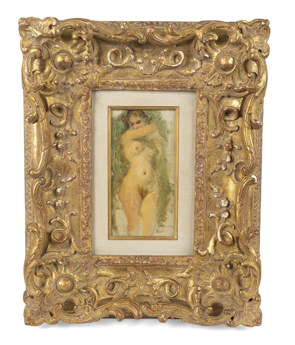 Robert Evans Signed Renoir Painting