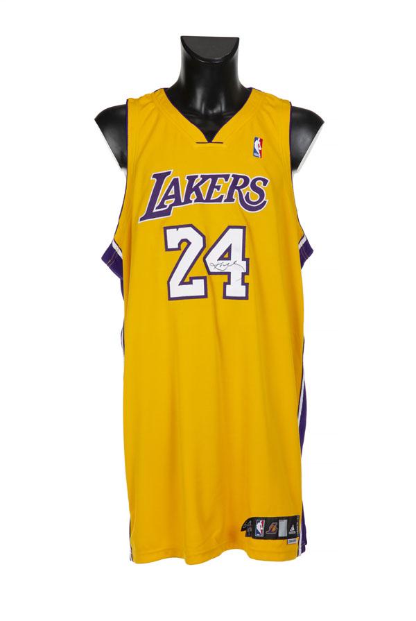 Kobe Bryant's Number 24 Lakers Shirt