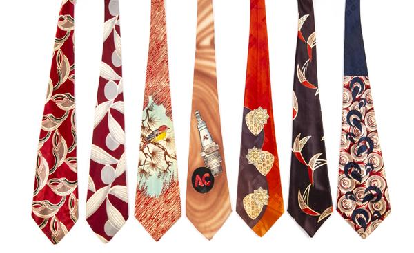 Steve Martin's wild and wacky ties