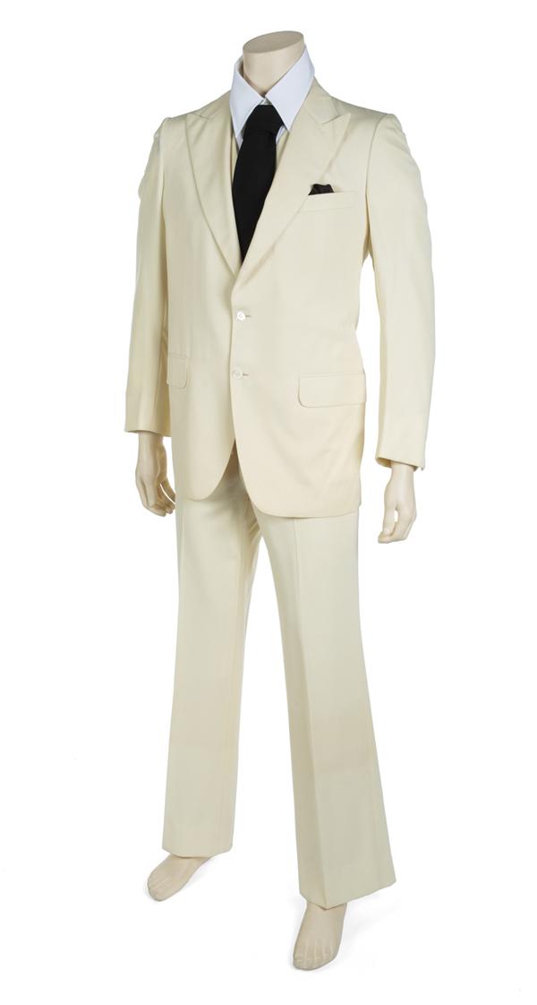 Steve Martin's three-piece white suit