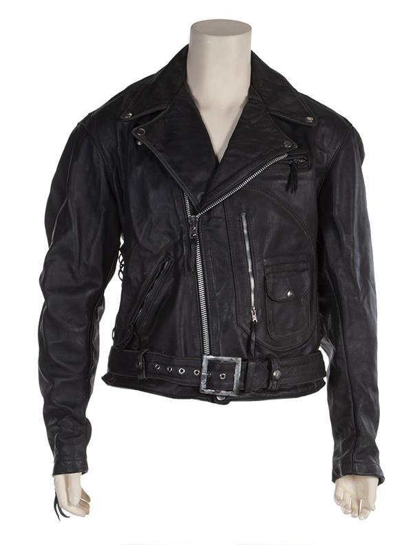 Terminator Leather Motorcycle Jacket