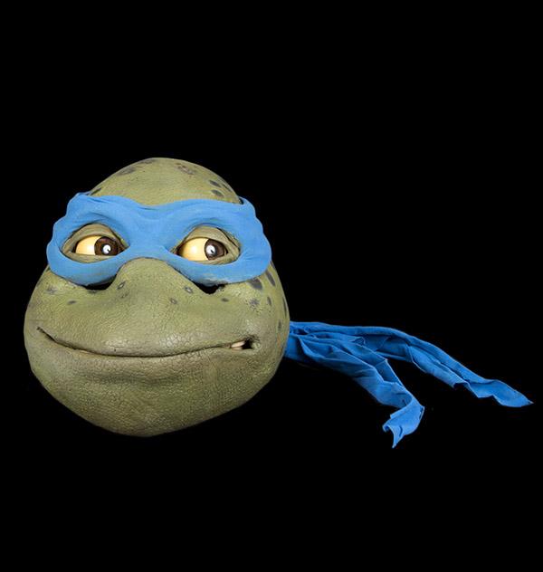 Leonardo ninja turtle head