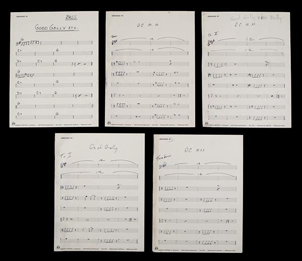 Little Richard's Musical Scores