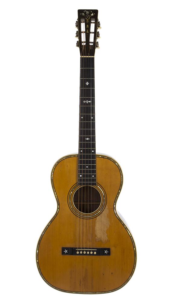Bob Marley's 1975 Ovation 1612-4 Custom Balladeer acoustic electric guitar