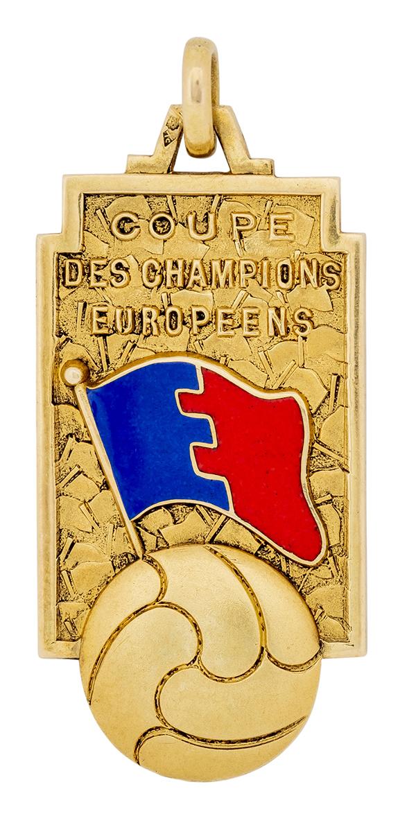 Di Stéfano's 1956 European Champions Cup's Winners Medal
