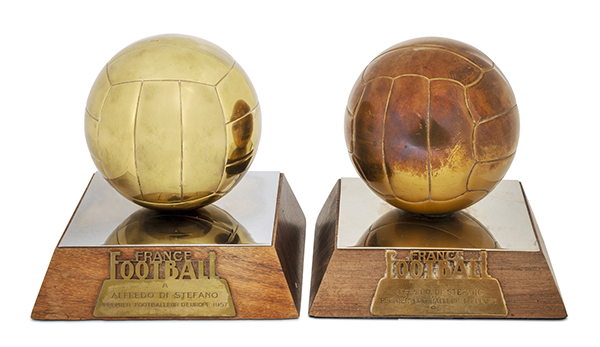 Di Stéfano's Ballon d'Or Awards by French magazine, France Footballs