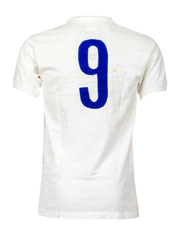 Di Stéfano's iconic Real Madrid white Number 9 jersey