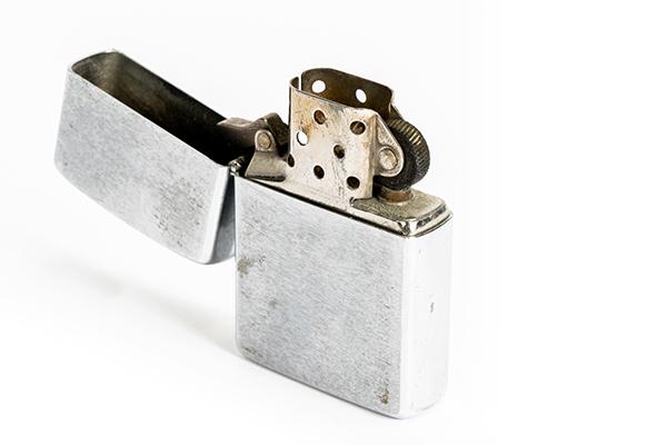 John McClane iconic screenused Zippo lighter