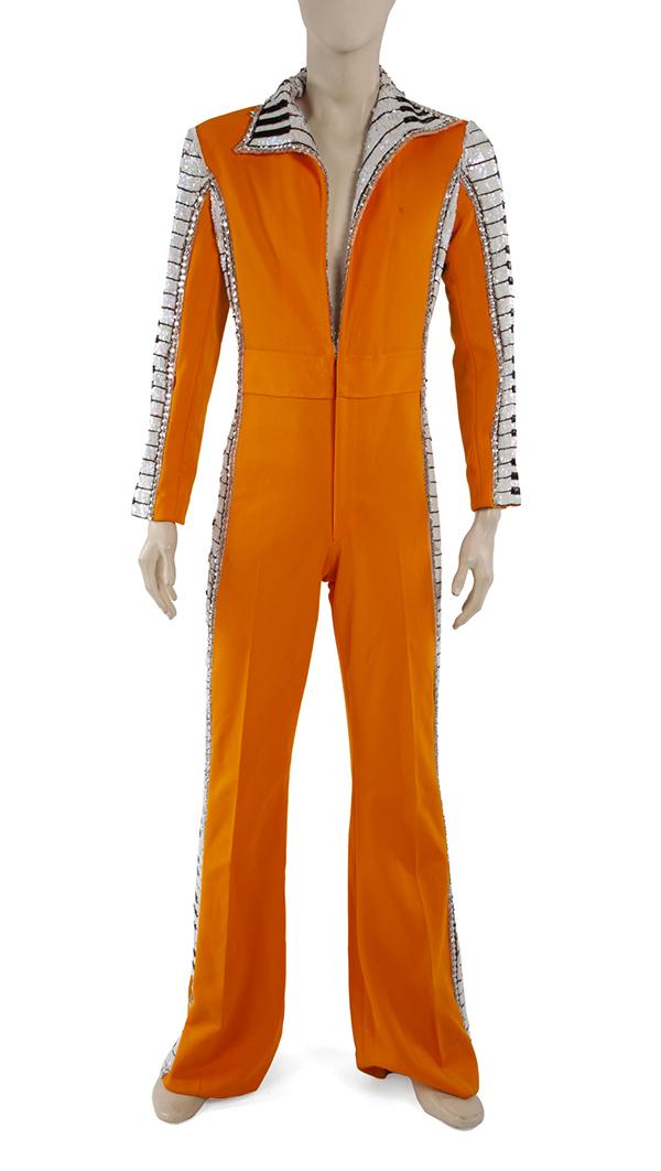 Elton John stage worn jumpsuit