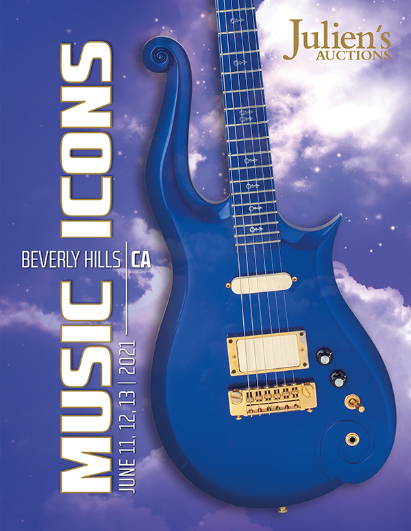 Music Icons Auction Cover