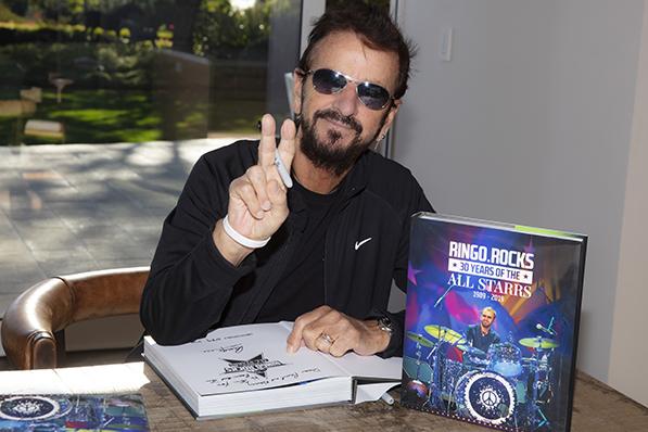 Ringo Starr Book Signing
