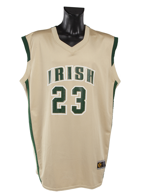 LeBron James' St. Vincent – St. Mary's high school jersey