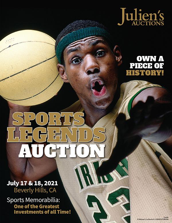 Julien's Auctions Sports Legends Catalogue