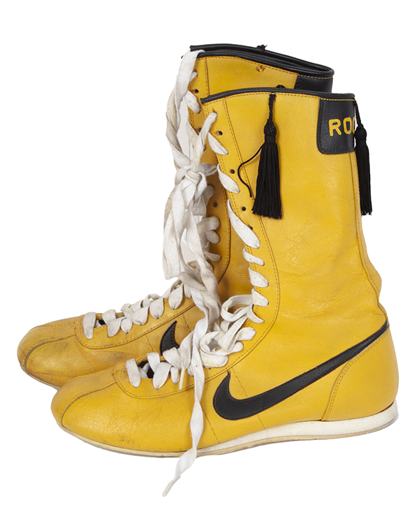 Rocky III boxing boots