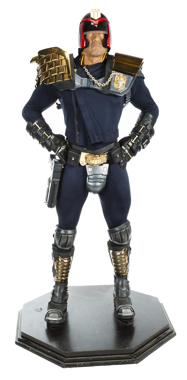 Gianni Versace designed costume from Judge Dredd
