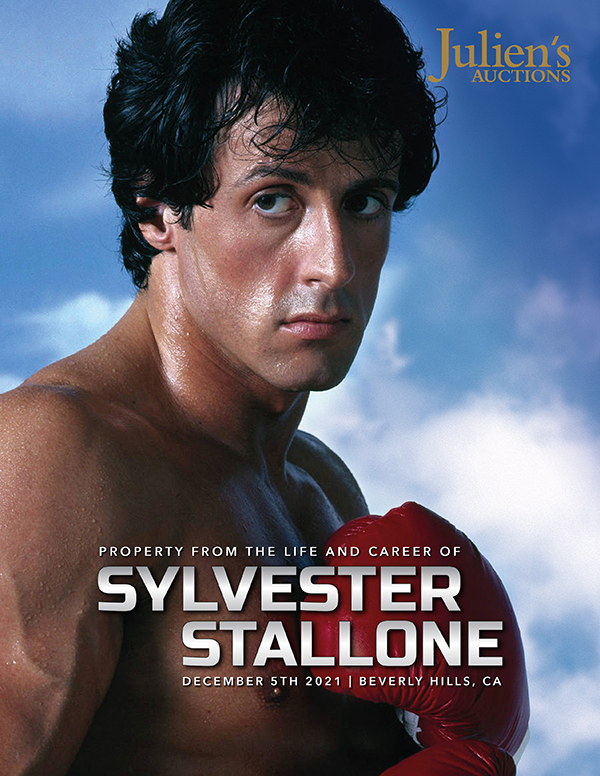 Sylvester Stallone Auction Cover