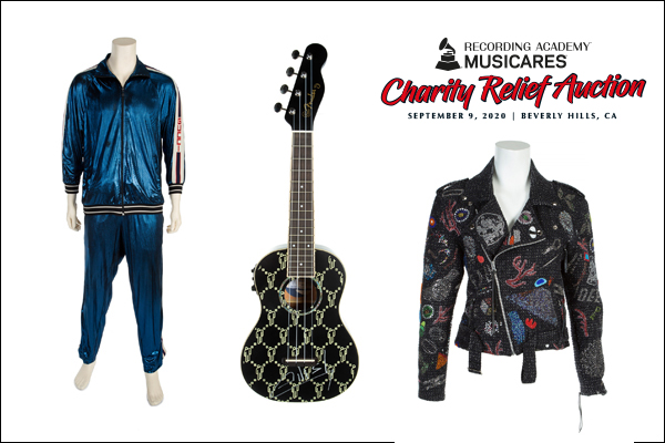 MusiCares Foundation Charity Auction Items Announ