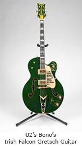 Bono Irish Falcon Gretsch Guitar