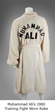 Mohammad Ali Fight Worn Robe