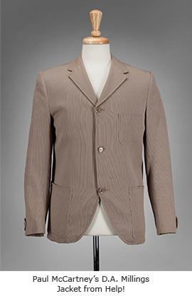 Paul McCarney's D.A. Millings Jacket from Help!