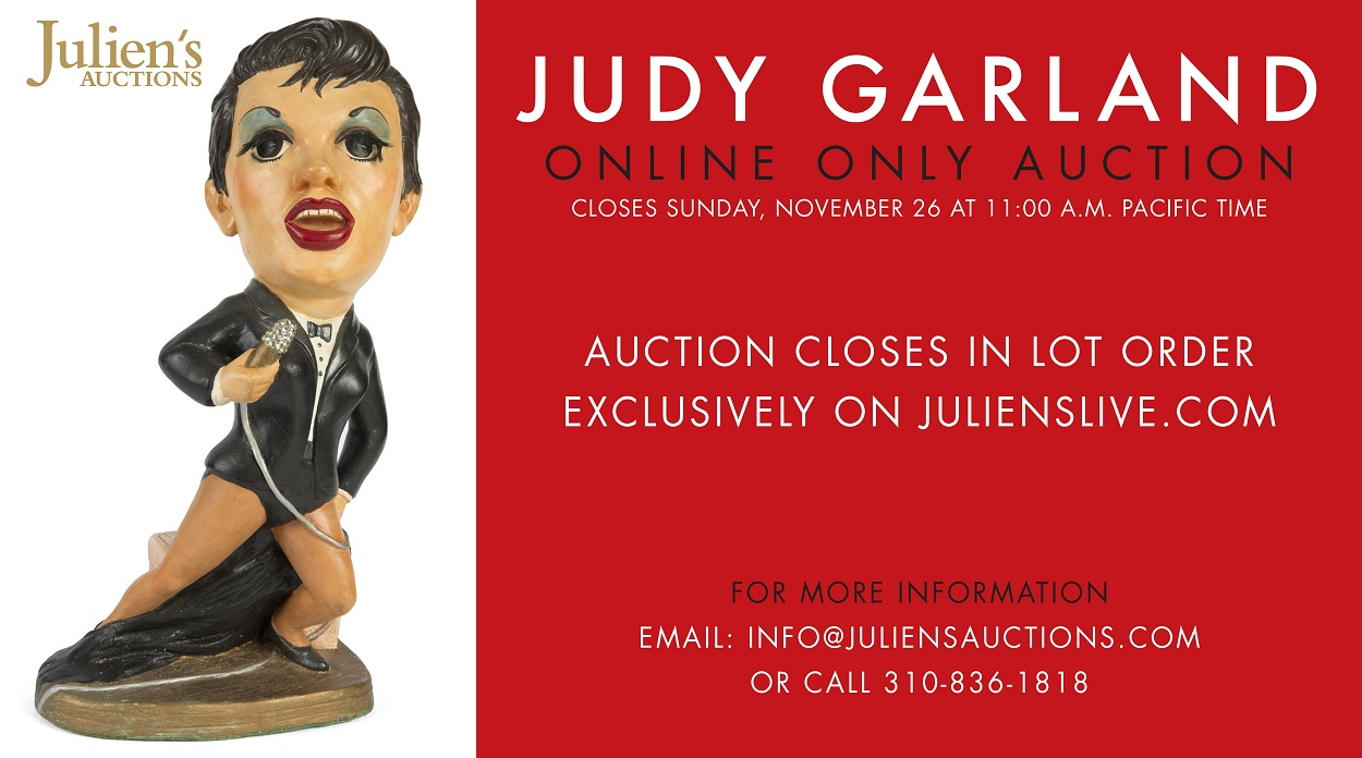 Judy Garland Online Auction