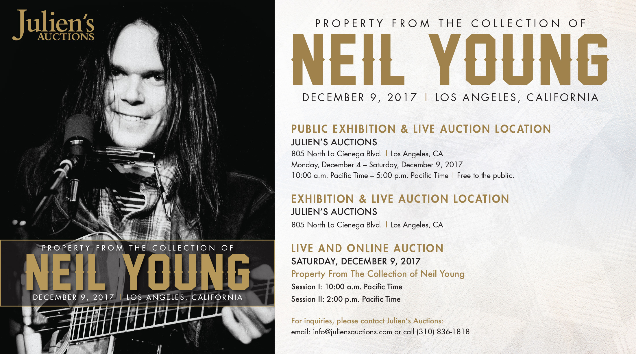 Property From The Collection Of Neil Young