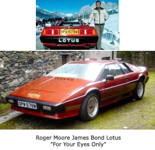 James Bond - Roger Moore - Lotus