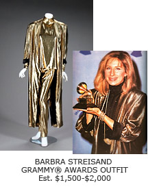 Barbra Streisand Grammy Awards Outfit