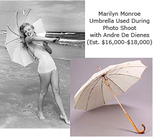 Marilyn Monroe with Umbrella