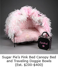 Sugar Pie's Pink Bed
