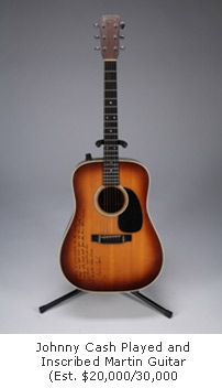 Johnny Cash Martin Guitar