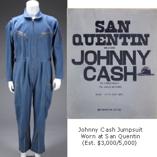 Johnny Cash San Quentin Jumpsuit