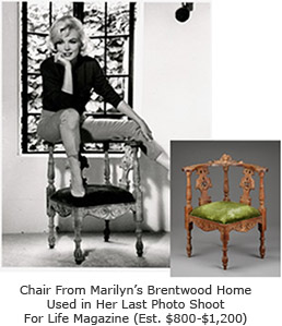 Marilyn Monroe's Chair