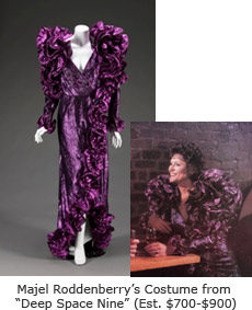 Majel Roddenberry's Costume from Deep Space Nine