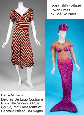 Bette Midler costumes