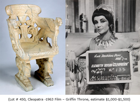 Cleopatra Griffin Throne