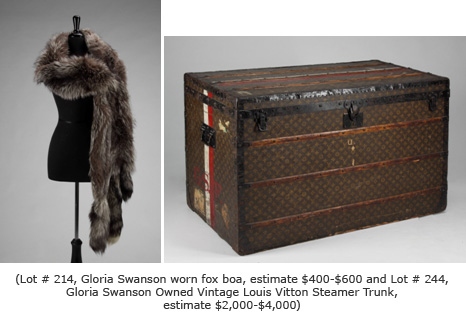 Gloria Swanson Boa and box