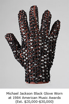 Michael Jackson American Music Awards Black Glove